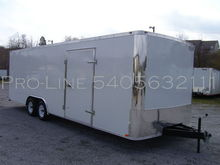 2015 24' Car Hauler Enclosed ca