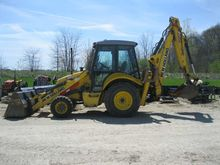 2007 New Holland B95 Backhoes