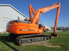 2011 Doosan DX300LC Excavators