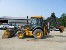 2010 John Deere 310SJ TC Backho