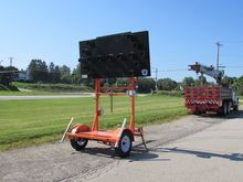 2012 WANCO TOWABLE ARROW BOARD