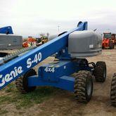 2014 Genie S-40 Work platforms
