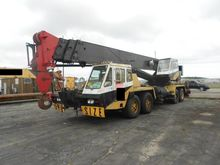 1981 P and H Omega T650 Cranes