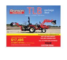 2017 Branson Tractors 2400 Back