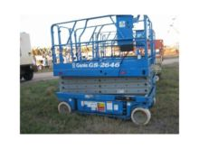 2002 GENIE GS2646 Scissor lifts