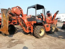 2002 Ditch Witch RT90H with bac