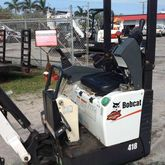 Used 2014 Bobcat 418
