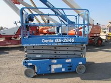 2011 GENIE GS2646 Scissor lifts