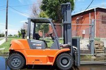 FD60 EQUIPMENT FORKLIFTS