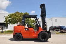 2006 NISSAN JP100BY LP Forklift
