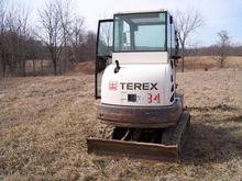 2011 TEREX TC35 Mini excavators