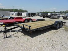 2016 P and T Trailers 82x20 WCH