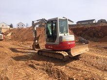 2013 TAKEUCHI TB153 Mini excava