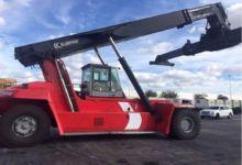 2009 KALMAR DRF-450 Reach Stack
