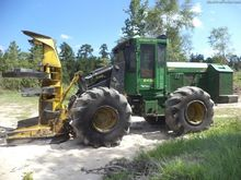 John Deere 843K Feller bunchers