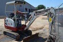 2014 TAKEUCHI TB216 Mini excava