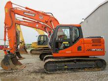 2014 Doosan DX140LC-3 Excavator