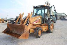 2003 CASE 580SM II Backhoe load