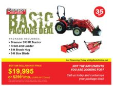 2016 Branson Tractors 3515 Pack