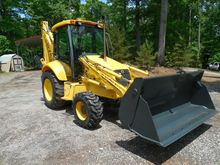 2000 NEW HOLLAND 575E Backhoe l