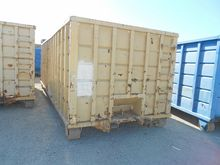 40 cu. yd. Roll off Containers
