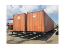 A PLUS 45' High Cube Cargo Cont