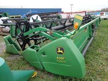 John Deere 635F Combines
