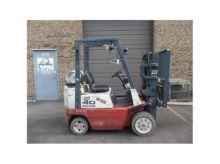 2000 NISSAN CPJ02A20PV Forklift