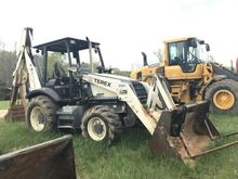 TEREX 760B Backhoe loader