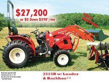 2016 BRANSON 3515R Tractors
