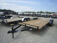 2015 P and T Trailers 82x20 WCH