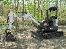 2012 BOBCAT E26 Mini excavators