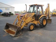 1987 CASE 580K Backhoe loader