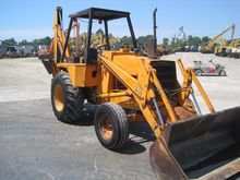 1976 CASE 580C Backhoe loader