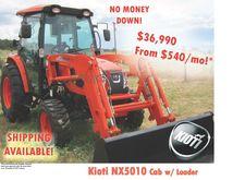 2016 KIOTI NX5010C Tractors