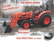 2016 KIOTI NX5510HST Tractors