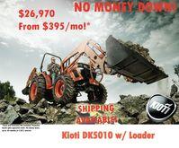 2016 KIOTI DK5010 Tractors