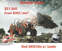 2016 KIOTI DK5010HS Tractors