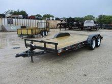 2016 Wesco Flatbed Car hauler