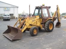 1986 CASE 580SE Backhoe loader