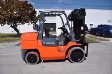 2007 TOYOTA 7FGCU55BCS Forklift
