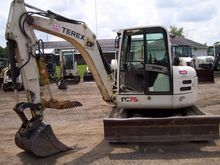 2008 TEREX TC75 Mini excavators