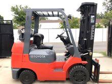 2003 TOYOTA 7FGCU30 Forklifts
