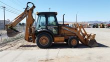 2007 CASE 580SM Backhoe loader