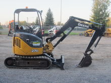 2008 DEERE 27D Mini excavators