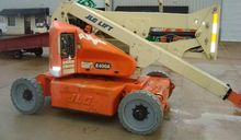 2008 Jlg E400A Articulated boom