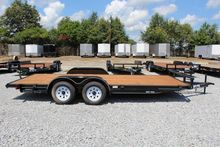 2017 Texas Bragg Trailers 18HCH