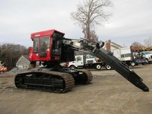 2010 VALMET 445FXL Feller bunch