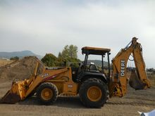 2000 DEERE 410E Backhoe loader