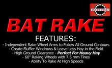 ENOROSSI HCWR-12 BAT RAKE Hi Cl